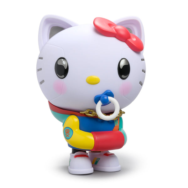 Kidrobot x Sanrio Hello Kitty by Quiccs 80s Retro edition 8-inch vinyl figure