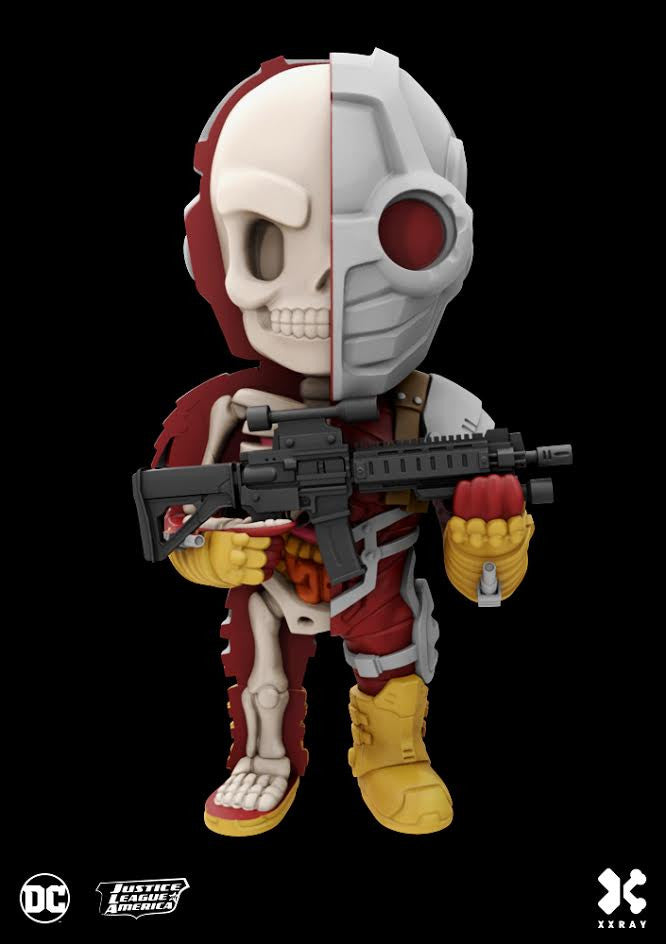 XXRAY Deadshot Deluxe 4-inch figure by MightyJaxx and Jason Freeny (Wave 4) MightyJaxx Vinyl Art Toy Tenacious Toys®