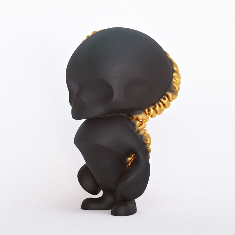 Gingerskull Goldbloom Edition 5-inch resin figure Gingerskull Resin Tenacious Toys®