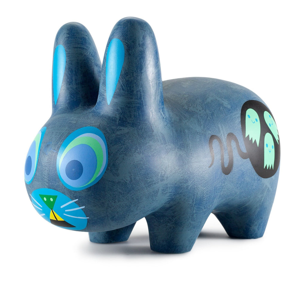 Amanda Visell 10-inch Scaredy Labbit Dark Edition vinyl art toy by Kidrobot