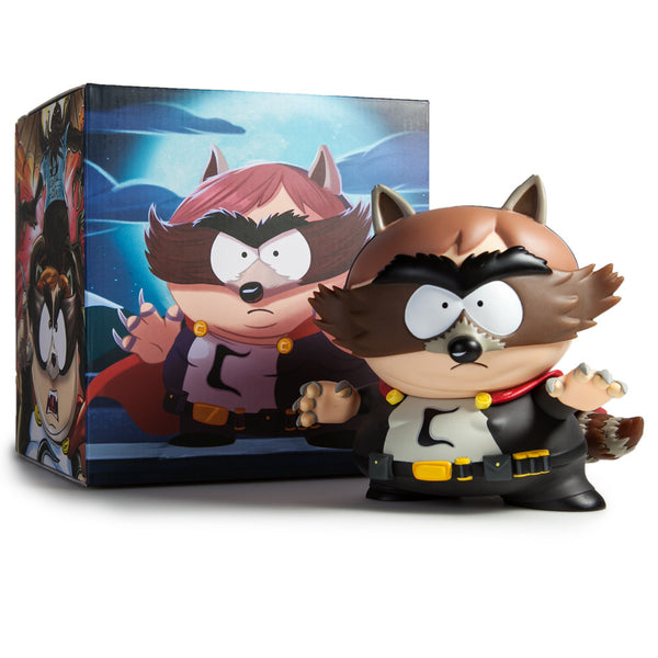 South Park The Fractured But Whole The Coon medium vinyl 7-inch figure by Kidrobot - Tenacious Toys® - 7