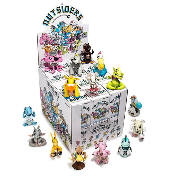 Joe Ledbetter The Outsiders Blind Boxed Mini Figures CASE of 24 pieces by Kidrobot PREORDER