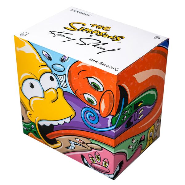 Kidrobot The Simpsons: Bart by Kenny Scharf 6-inch medium figure Kidrobot Tenacious Toys®