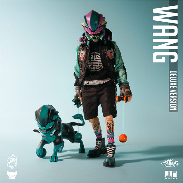 Wang Deluxe Version 1:6-Scale Action Figure Set by JT Studio JT Studio Action Figure Tenacious Toys®