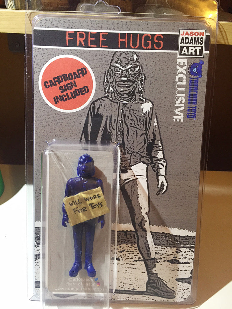 Exclusive Will Work for Toys Action Figure by Jason Adams
