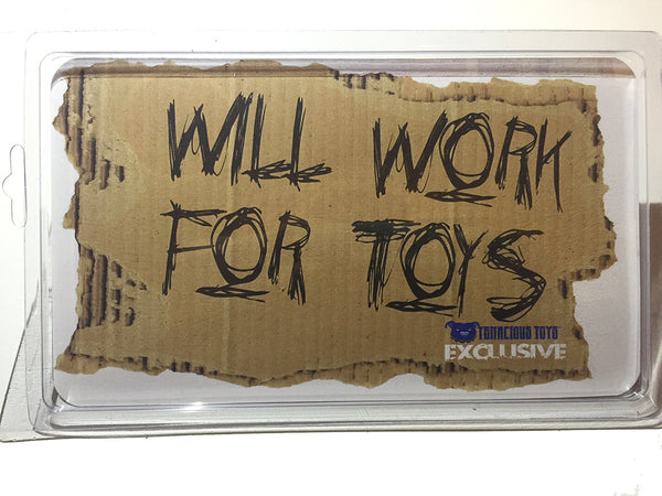Exclusive Will Work for Toys Action Figure by Jason Adams Jason Adams Tenacious Toys®
