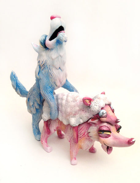 """Wolfetish"" Custom Luke Chueh Bitch by One Eyed Girl - Tenacious Toys® - 2"