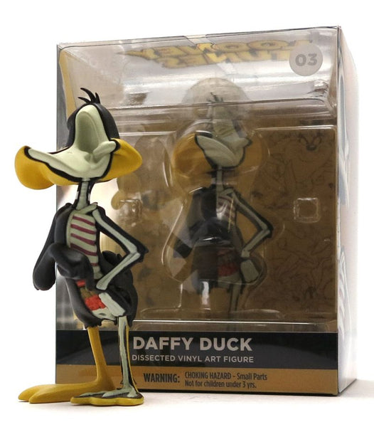 XXRAY Daffy Duck Looney Tunes 4-inch PVC figure by Jason Freeny & Mighty Jaxx