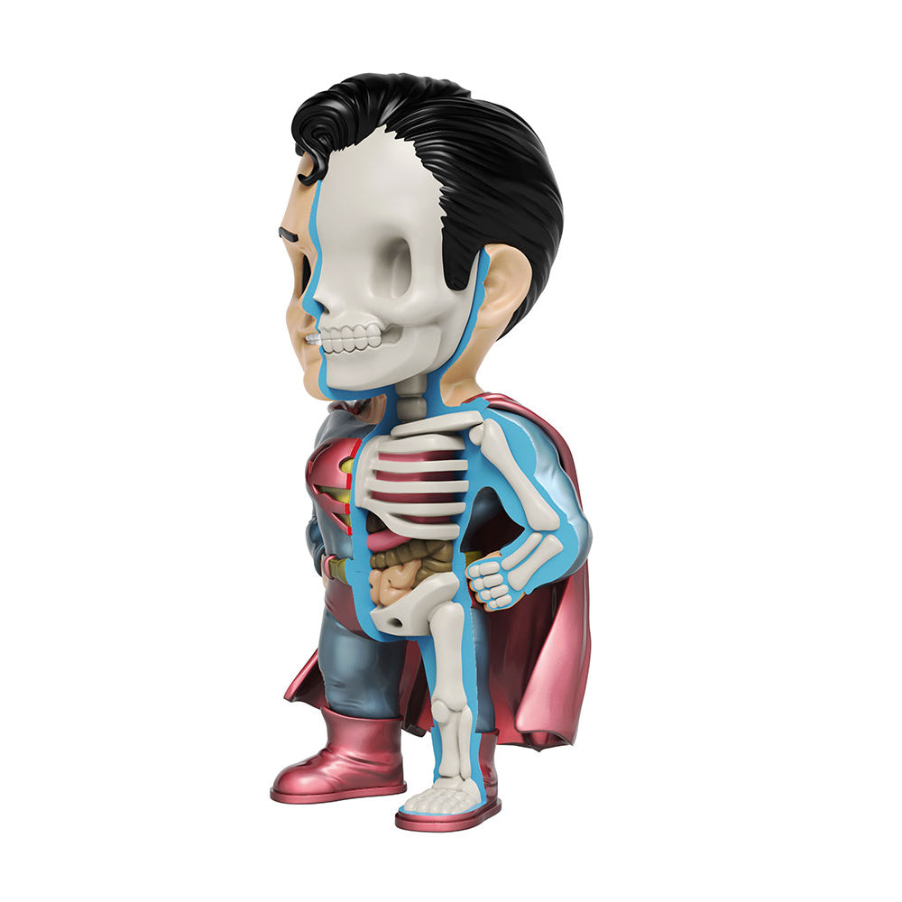"XXRAY Plus Superman Metallic Edition 10"" figure by Jason Freeny x Mighty Jaxx PREORDER ships late March MightyJaxx Vinyl Art Toy Tenacious Toys®"