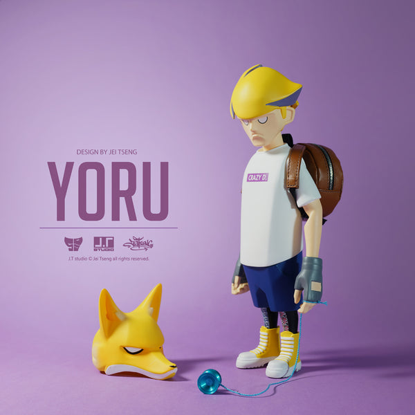 YORU 8-inch Vinyl Action Figure by JT Studio
