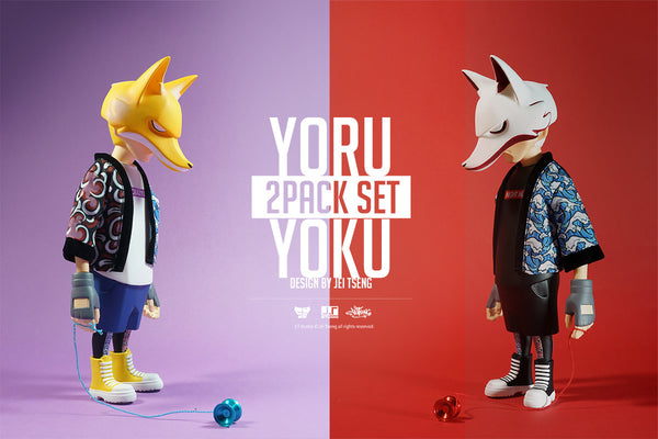 YORU & YOKU 8-inch Vinyl Action Figures 2-Piece Set by JT Studio