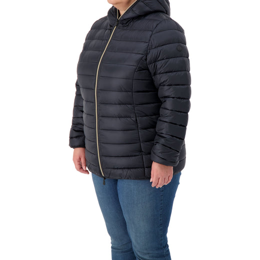 Womens Hooded Jacket in IRIS Plus Size