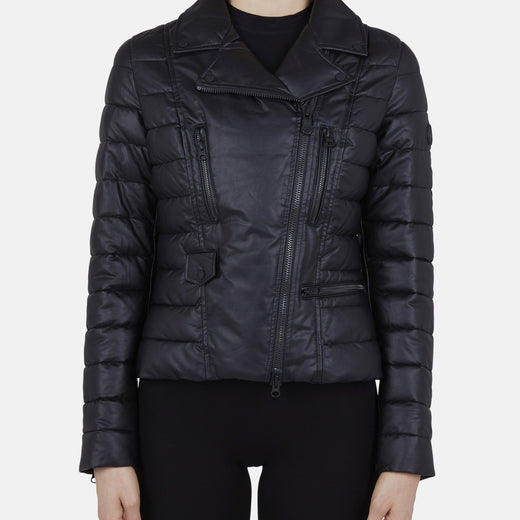 Womens Jacket in SKIN Faux Leather