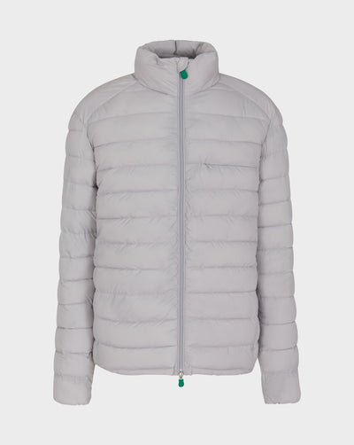 Mens RECY Quilted Jacket in Frozen Grey