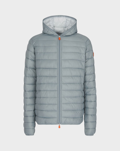 Men's GIGA Hooded Jacket in Shark Grey