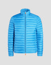 Mens GIGA Puffer Jacket in Ocean Blue