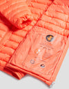 Mens GIGA Puffer Jacket in Juice Red
