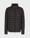 Men's GIGA Jacket in Brown Black
