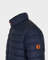 Men's GIGA Jacket in Blue Black
