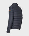 Men's GIGA Jacket in Grey Black