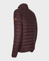 Men's GIGA Jacket in Burgundy Black