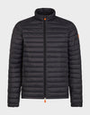Hommes GIGA Puffer Jacket in Black