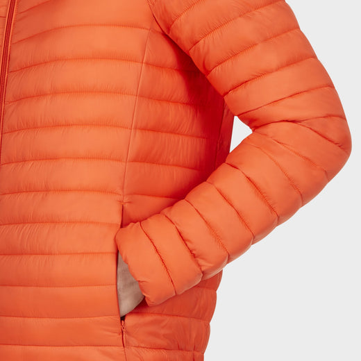 Mens GIGA Jacket in Tangerine Orange