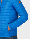 Mens GIGA Puffer Jacket in Marina Blue