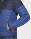 Mens MATY Reversible Jacket in Navy Blue