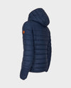 Womens GIGA Quilted Jacket in Navy Blue