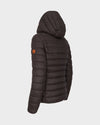 WOMEN'S GIGA QUILTED JACKET in Brown Black