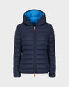 Womens GIGA Quilted Jacket in Blue Black