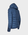 Womens IRIS Hooded Jacket in Space Blue