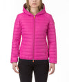 Women Hooded Jacket in Fucsia Pink