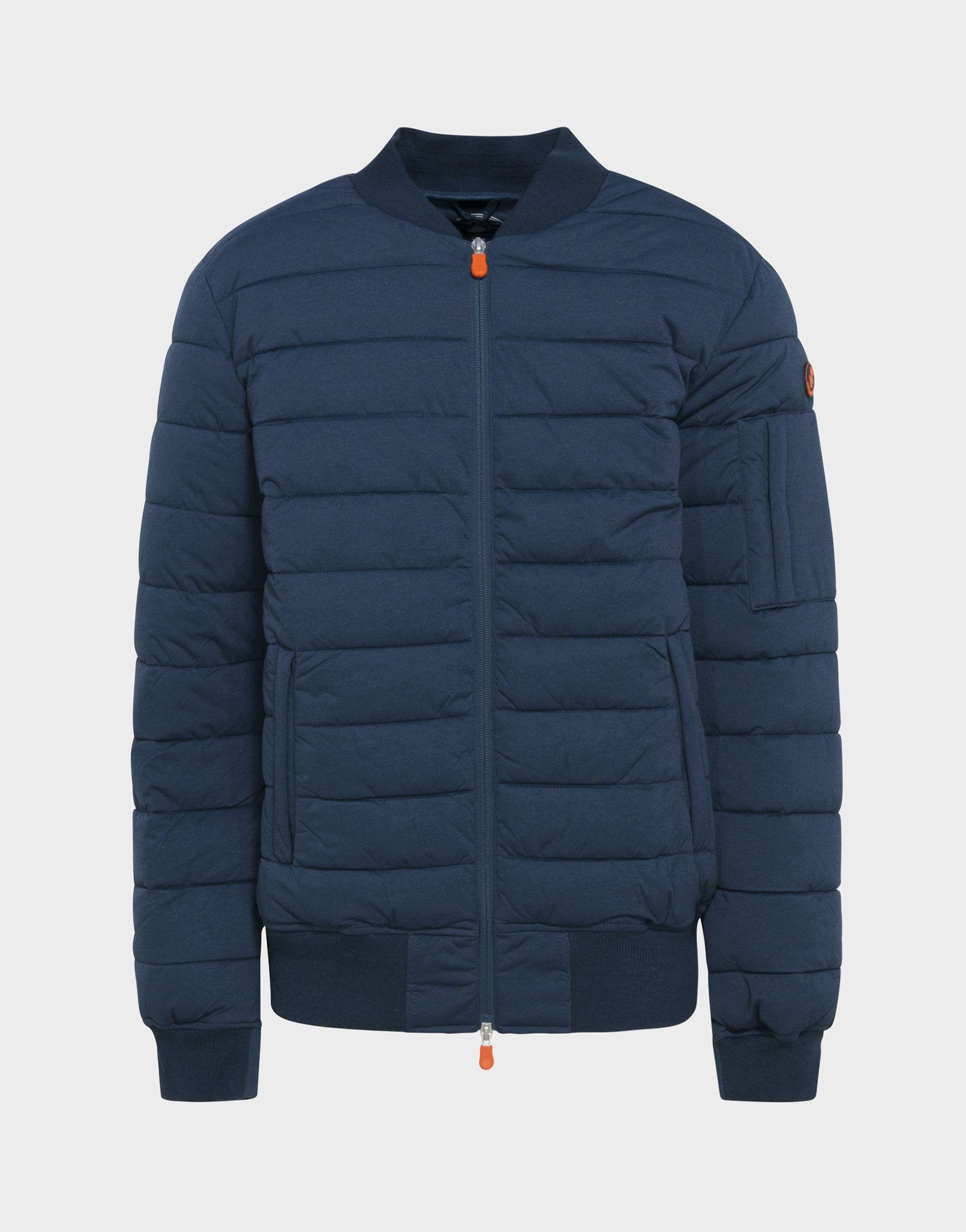 MENS ANGY STRETCH JACKET IN Navy Blue Melange