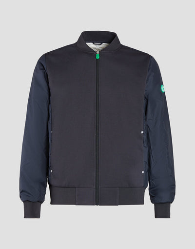 Mens FEEL Activewear Jacket in Blue Black
