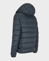 Men's GIGA Quilted Jacket in Green Black