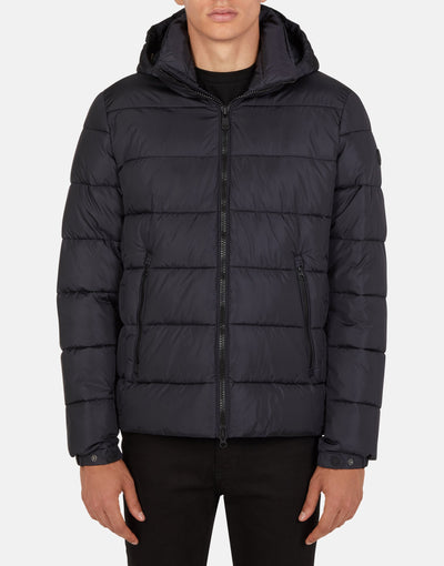 Save The Duck Men's MEGA Hooded Puffer Jacket