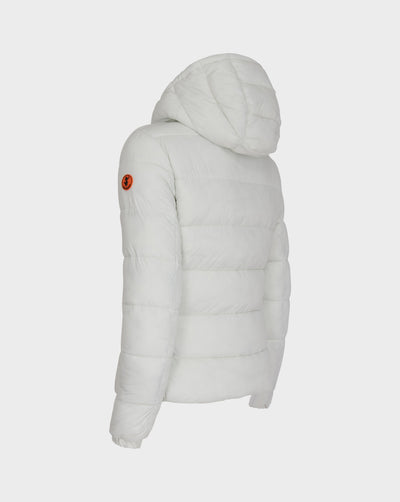 Women's GIGA Quilted Jacket in Off White