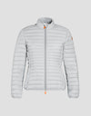 Save The Duck Veste Femme-S3597W-GIGA6-13 Opal Grey