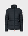 Womens GIGA Winter Jacket in Green Black