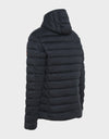 MENS SOLD HOODED JACKET IN Black