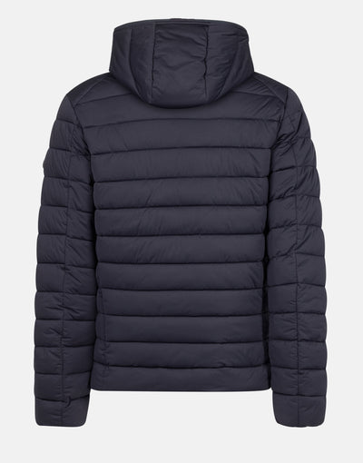 Save The Duck Men's SOLD Stretch Hooded Puffer Jacket