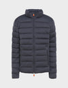 Mens SOLD Jacket in Grey Black