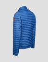 Men's DULL Puffer Jacket in Lake Blue