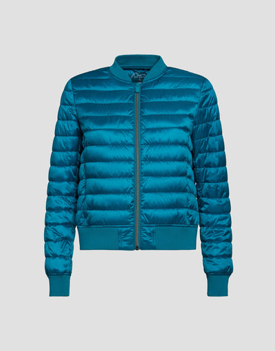 Save The Duck Womens Jacket-S3681W-IRIS6-01059 Hawaiian Blue