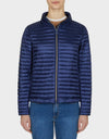 Womens IRIS Puffer Jacket in Navy Blue