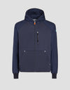 Save The Duck Mens Hooded Jacket-S3716M-FEEL6-146 Blue Black