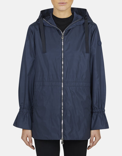 Save The Duck Womens MEGA Hooded Long Jacket