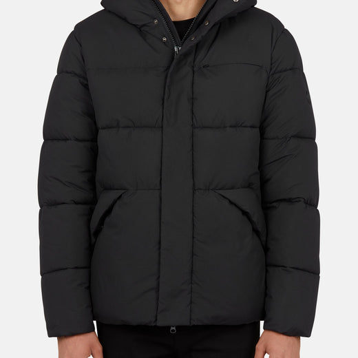 Mens Hooded Jacket in SOFY